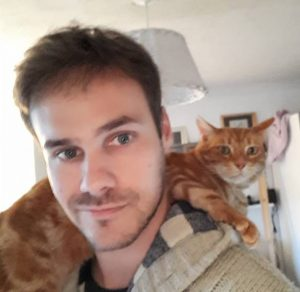 Sam Parsons plus cat